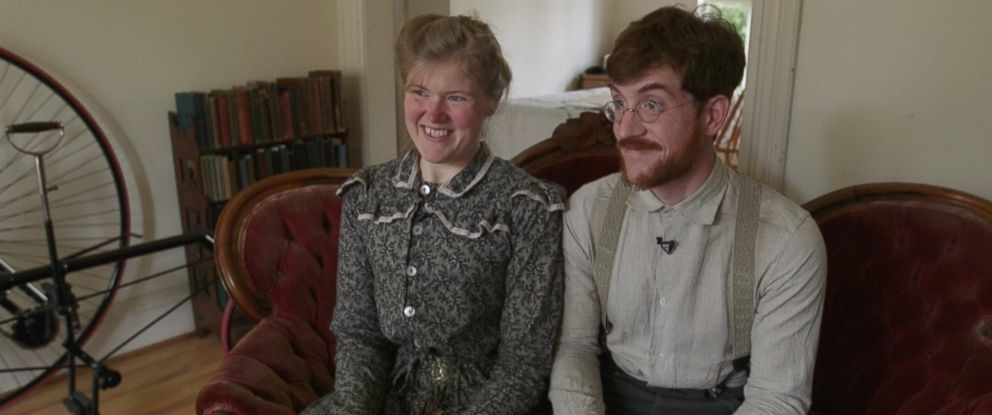 Every single day for the past six years, Sarah and Gabriel Chrisman have tried to live a lifestyle consistent with England's Victorian era.