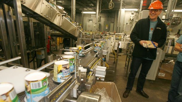 PHOTO: Jostein Solheim looks over the production line at Ben & Jerrys ice cream plant in Waterbury, Vt., in this March 23, 2010, file photo.