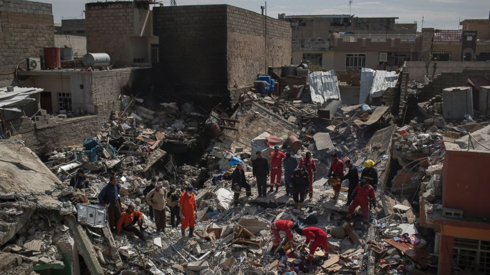 Coalition confirms more than 100 Mosul civilians killed in March airstrike