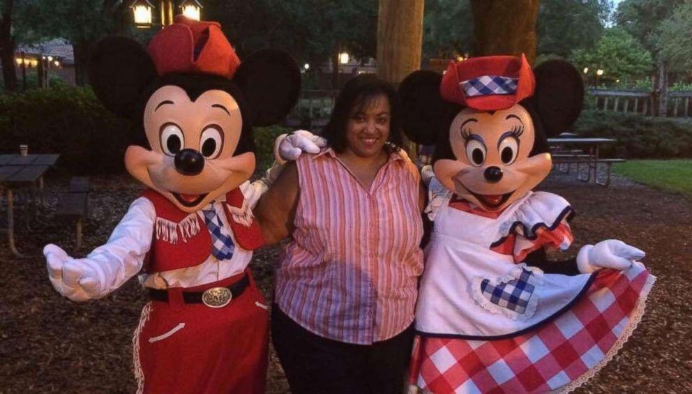 PHOTO: Andrea Well at Disney.