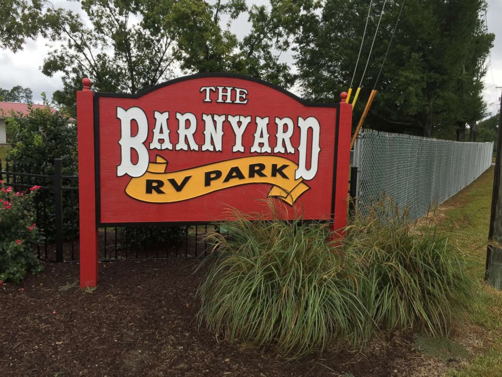 PHOTO: The Barnyard RV Park in Lexington, South Carolina, opened additional parking space for people evacuating Irma.