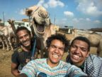 Say Cheese! Camels Smiles For Selfie