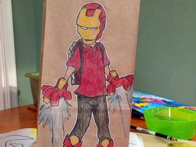 Photos: Father's Amazing Drawings Make Son's Lunch Fun