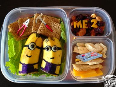 Photos: Lunchbox Dad's Amazing Animated Meals
