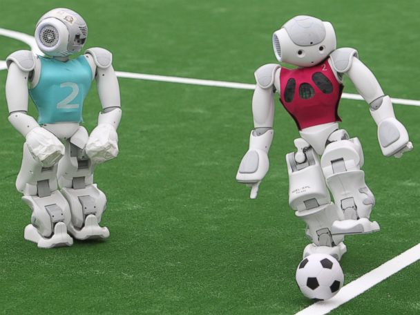 Photos:  Robot Soccer Teams Compete in Germany