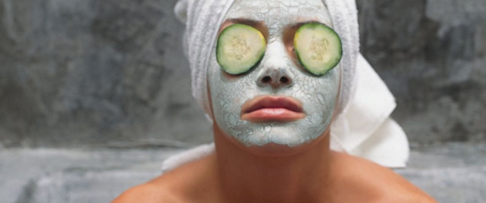 PHOTO: A woman wears a face mask in this undated stock photo.