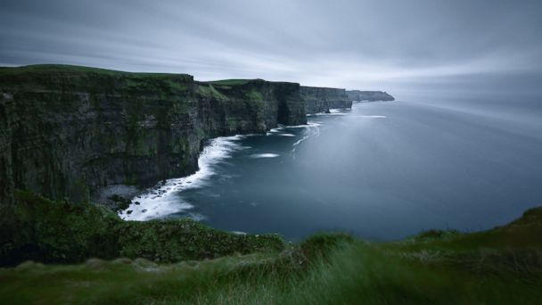 PHOTO: The Cliffs of Moher in County Clare, Ireland are seen in this undated stock photo.