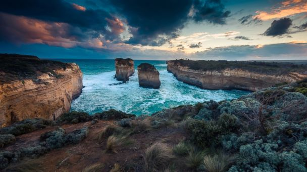 PHOTO: Great Ocean Road in Melbourne, Australia is pictured in this undated stock photo.