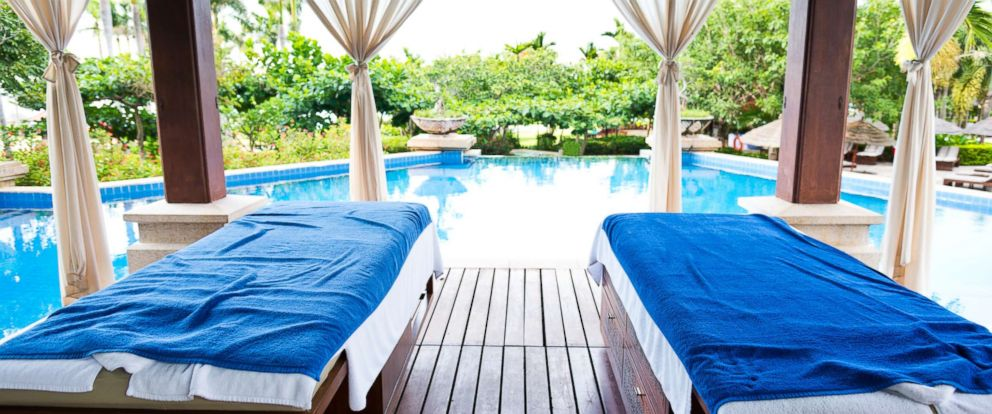 PHOTO: Spa center with swimming pool.