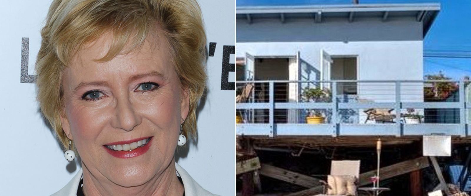 """PHOTO: Actress Eve Plumb attends the screening of Open Road Films on April 28, 2016, in New York City 