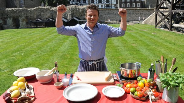 GTY Jamie Oliver TG 140513 16x9 608 Break a Guinness World Record by Cooking with Jamie Oliver