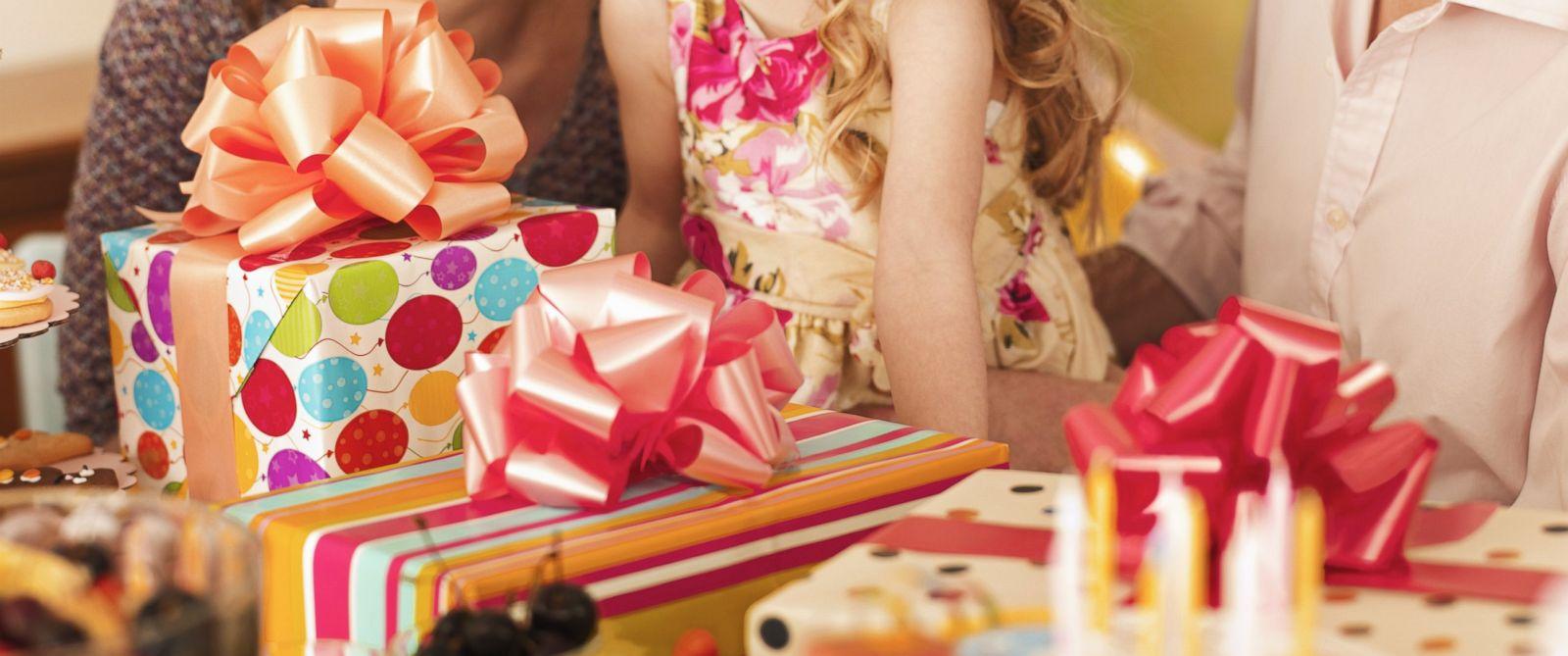 Подарок на день рождения детям фото