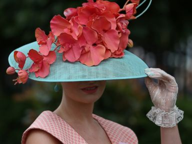 Photos: The Craziest Hats at the Royal Ascot