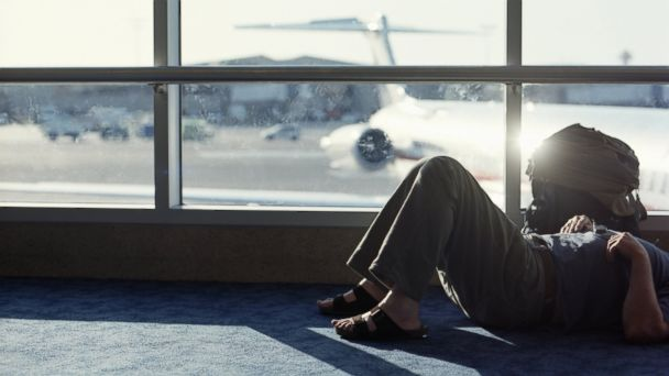 PHOTO: When your flight is cancelled or delayed, follow these five steps to help get you on your way more quickly.