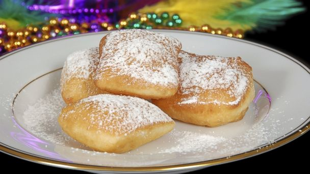 PHOTO: Mardi Gras Beignets, a traditional New Orleans dish, is pictured here.