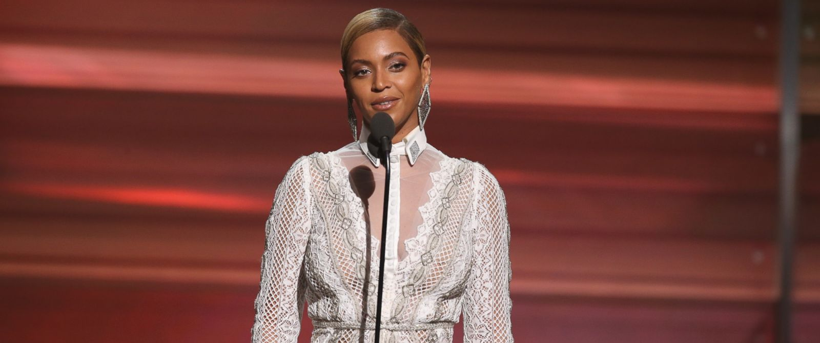 PHOTO: Beyonce onstage during The 58th GRAMMY Awards at Staples Center, Feb. 15, 2016, in Los Angeles.