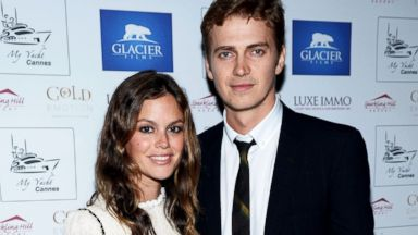 PHOTO: Rachel Bilson and Hayden Christensen attend the Glacier Films launch party, May 19, 2013, in Cannes, France.
