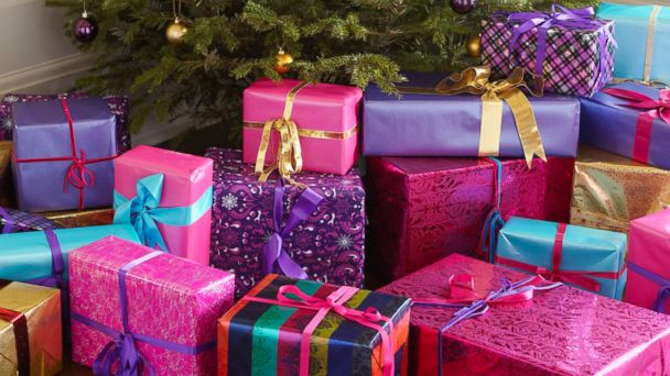 GTY christmas presents jtm 131218 16x9 608 Mom Defends Going Overboard on Christmas Gifts for Her Kids