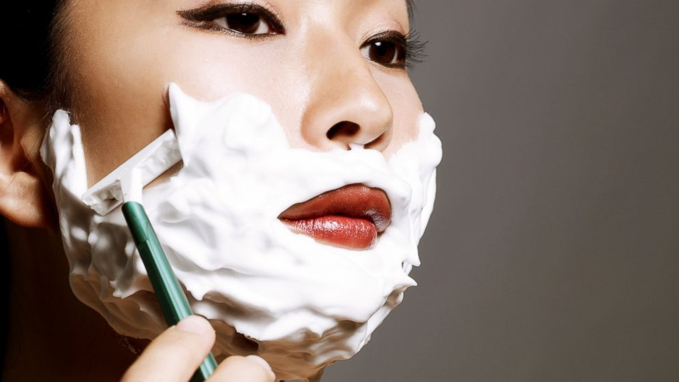 Why Women Shaving Their Faces Is Now A Thing Abc News