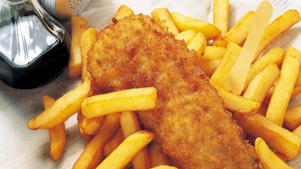 Emeril 39 s fish and chips recipe abc news for Fish and chips vinegar