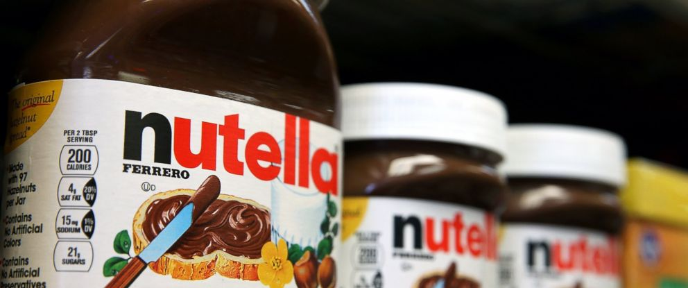 PHOTO: Jars of Nutella are displayed on a shelf at a market in this Aug. 18, 2014 file photo in San Francisco.