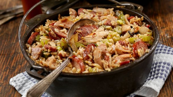 PHOTO: Jambalaya, a traditional New Orleans dish, is pictured here.