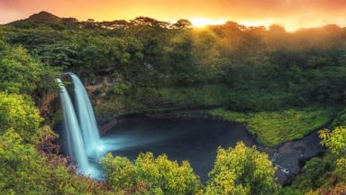 PHOTO: Wailua Falls in Kauai, Hawaii is pictured in this undated stock photo.