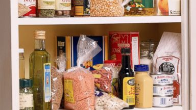 PHOTO: You have a hidden stash of cash in your house in the form of cans, grains, pastas and sauces.