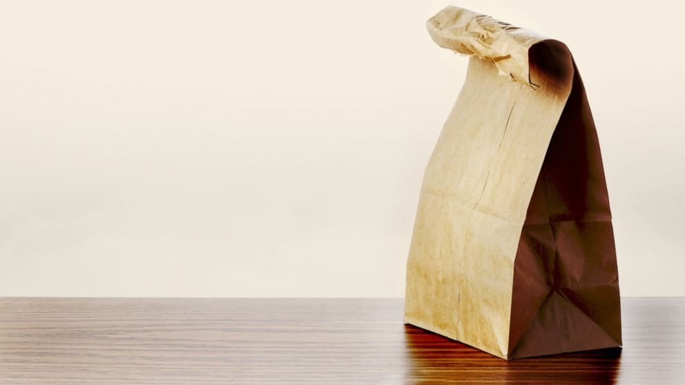 PHOTO: Paper bag lunch.
