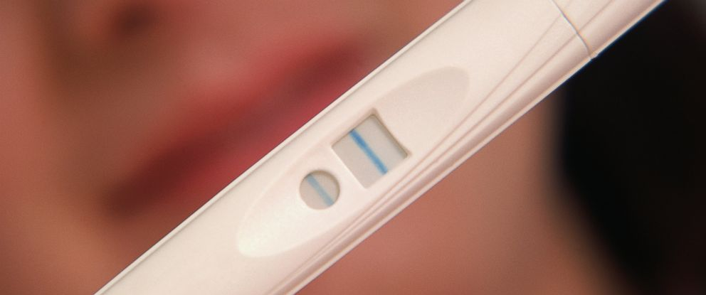 """PHOTO: The latest trend in getting pregnant is """"pee on a stick"""" parties."""