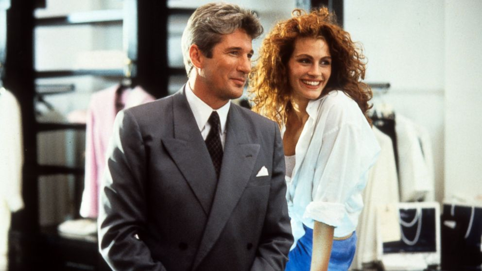 PHOTO: Richard Gere and Julia Roberts in a scene from the film Pretty Woman, 1990.