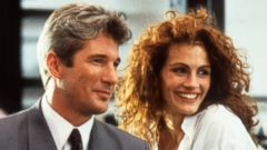 "PHOTO: Richard Gere and Julia Roberts in a scene from the film ""Pretty Woman,"" 1990."