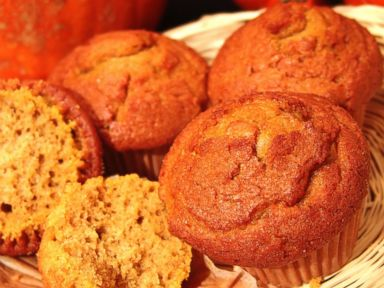 PHOTO: Pumpkin muffins are visible in this stock photo.