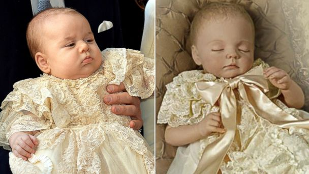 GTY royal baby and royal baby doll split sr 131216 16x9 608 Slightly Creepy Prince George Dolls for Sale