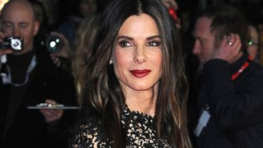 "PHOTO: Sandra Bullock attends a screening of the film ""Gravity"" during the 57th BFI London Film Festival at Odeon Leicester Square, Oct. 10, 2013, in London."