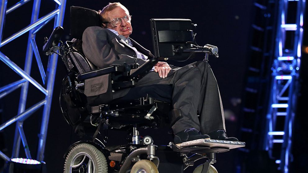 PHOTO: Professor Stephen Hawking