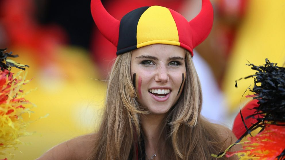 PHOTO: Axelle Despiegelaere is pictured during the Group H match of the 2014 World Cup between Belgium and Russia at The Maracana Stadium on June 22, 2014 in Rio de Janeiro, Brazil.