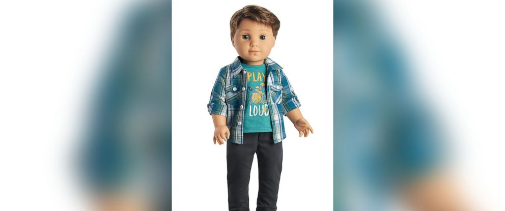 PHOTO: The first-ever boy character from American Girl, Logan Everett.