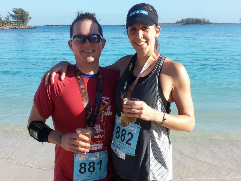 Alexander Salazar and Krissa Cetner after a half marathon in the Bahamas on Jan. 18, 2015.&lt;br /&gt;<div id='jobsHQ-hotjobs-single-2' class='jobsHQ-hotjobs-single'></div>