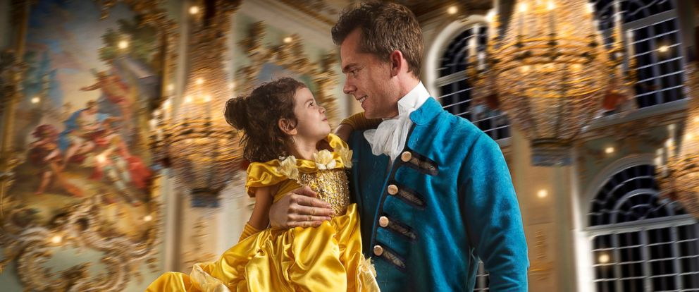 "PHOTO: Commercial photographer Josh Rossi gave his daughter, Nellee, a magical ""Beauty and the Beast"" photo shoot shed cherish forever."