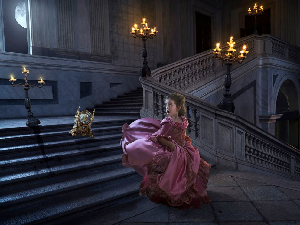 PHOTO: Commercial photographer Josh Rossi gave his daughter, Nellee, a magical Beauty and the Beast photo shoot shed cherish forever.