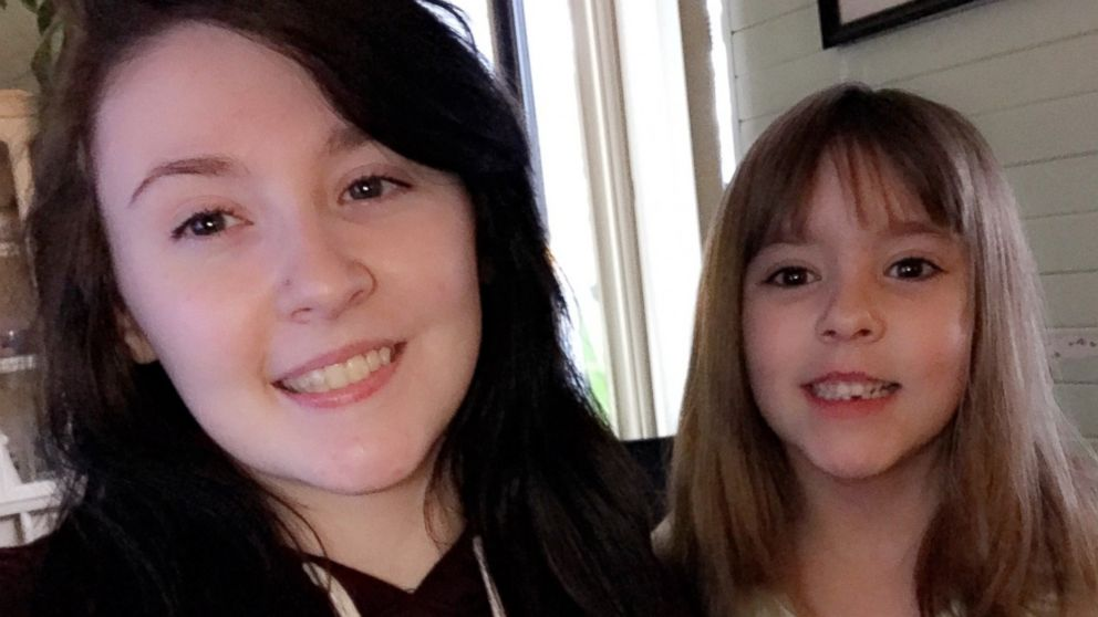 PHOTO: Kelsey Patton and sister Kinley have received social media attention after Kelsey tweeted about a lack of guests at Kinley's birthday party.