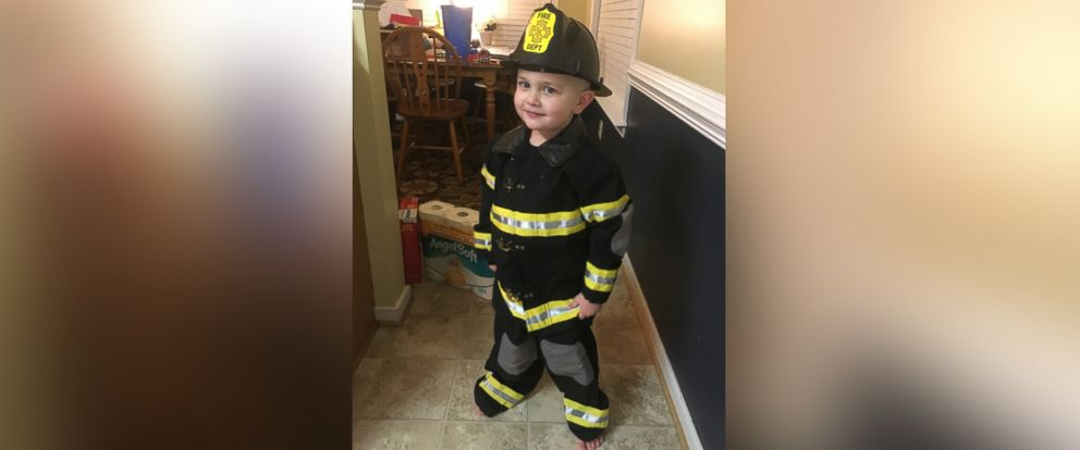 PHOTO: Caleb Lambert, 3, was diagnosed with stage 3 neuroblastoma in February.