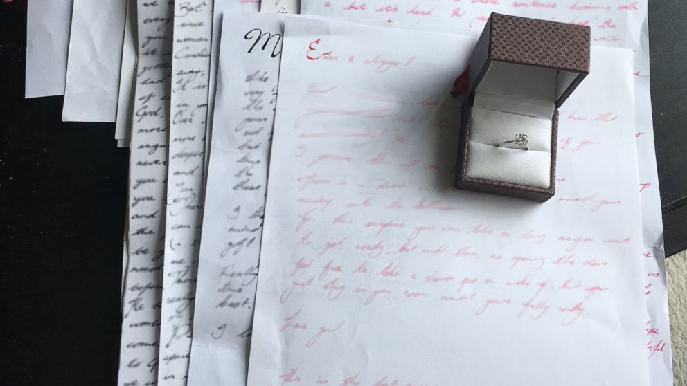 Marriage Proposal Hidden In Letters Over  Years  Abc News