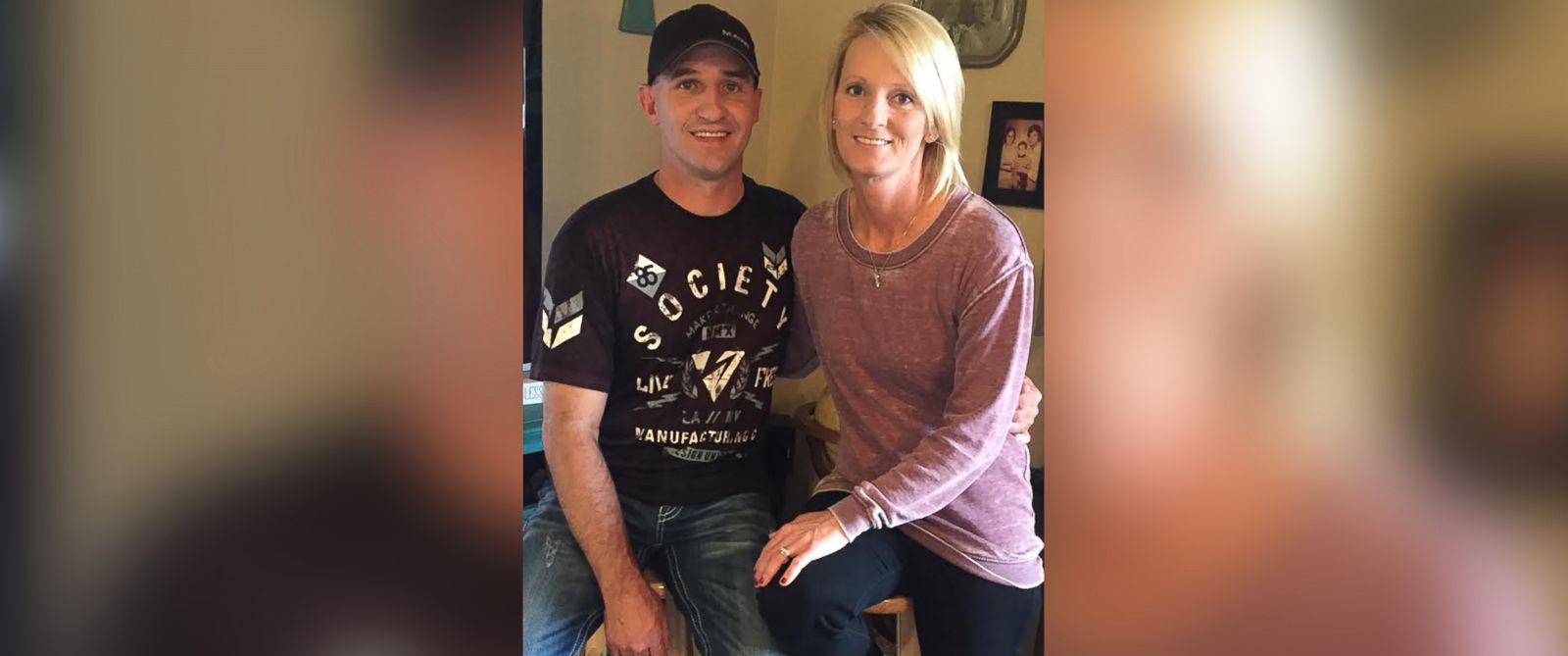 PHOTO:Trisha OQuinn was finally able to track down Jenni Easter to return her diamond ring 13 years after she lost it in an Oklahoma pond.