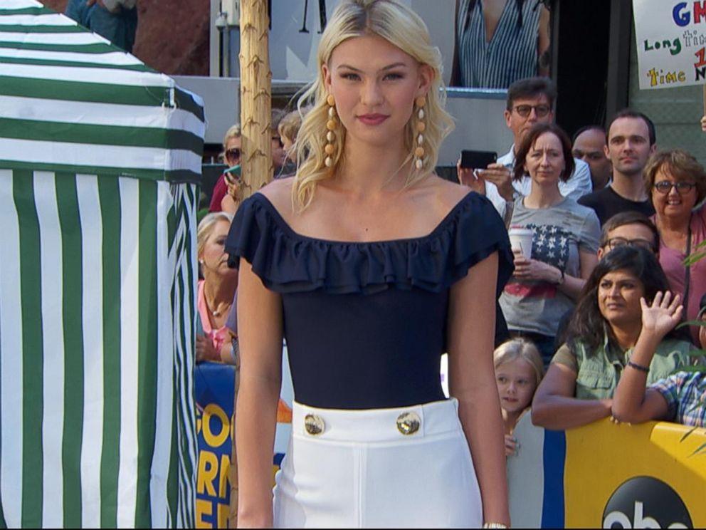 Vogue magazine's top summer swimwear trends