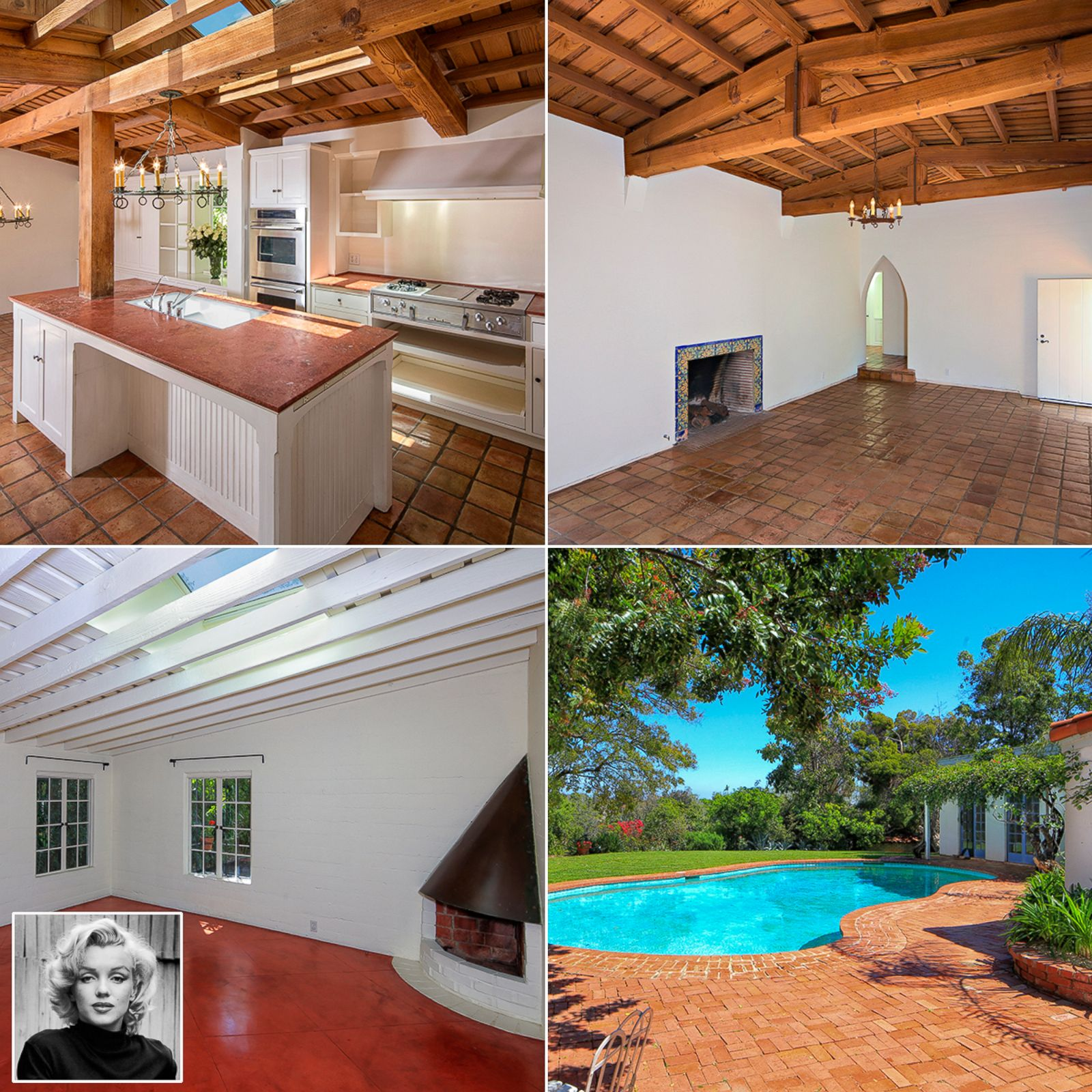 Marilyn Monroe Home marilyn monroe's brentwood home listed for $6.9 million - abc news