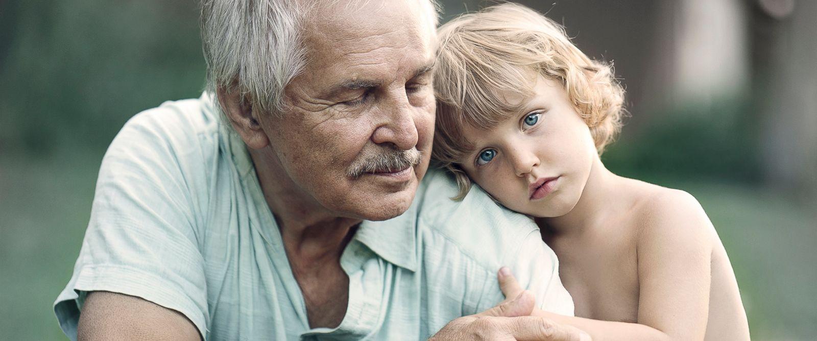 PHOTO: Photographer Ivette Ivens captures the bond between grandparents and grandchildren in her new series Generations.