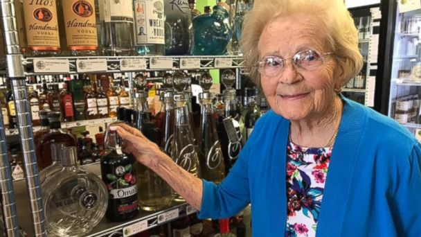 PHOTO: The cherry-infused vodka Hedy Steinbart, 92, made for her family for decades is now on the market thanks to her grandson 28-year-old Kyle Miller.