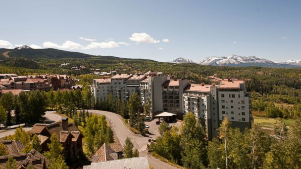 PHOTO: These high-altitude hotels each sit perched in the mountains more than a mile above sea level. This is the Peaks Resort and Spa.
